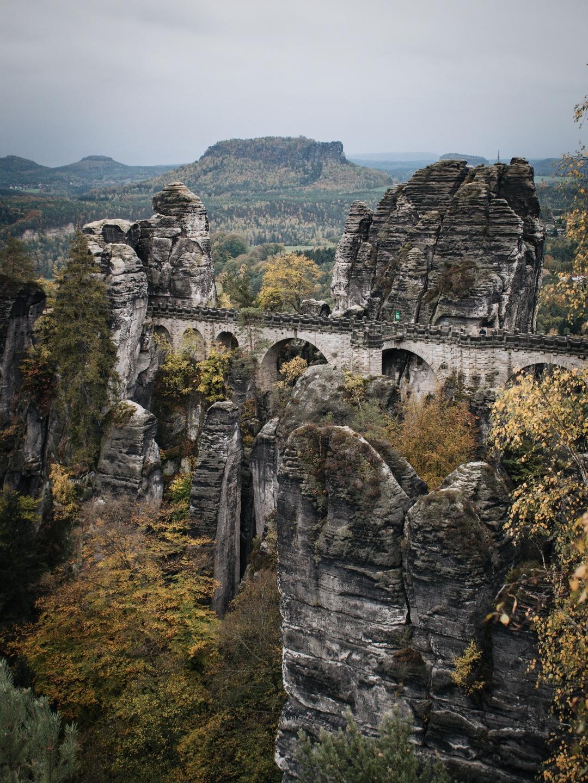 Die Bastei im Herbst
